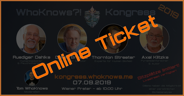 ONLINE WhoKnows Kongress 2019 Tagesticket